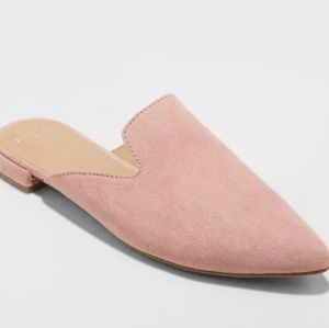 Velma Slip On Pointy Toe Mules